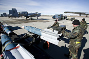 A-bomb Photos - Weapons Crews Load A Gbu-12 Laser by HIGH-G Productions