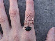 Black Ring Jewelry - Wear Your Power by Naomi Mountainspring