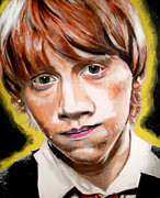 Ron Ron Paintings - Weasley is our King by Nicholette  Haigler