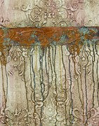 Hanging Mixed Media Posters - Weathered Poster by Chris Brandley