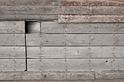 Abstracted Photos - Weathered Granary 1 by David Kleinsasser