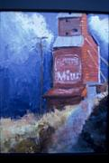 Old Mills Paintings - Weathered- S O L D by Bryan Alexander
