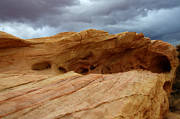 Red Sandstone Photos - Weathered Sandstone by Bob Christopher