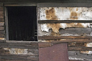 Abstracted Photos - Weathered Shed by David Kleinsasser