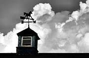 Weather Vane Prints - Weathered Vane Print by Karen M Scovill