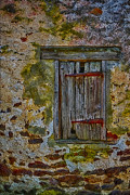 Old Fashioned Framed Prints - Weathered Vibrancy Framed Print by Susan Candelario