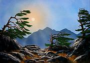 Pacific Crest Trail Paintings - Weathered Warriors by Frank Wilson