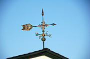 Weathervane Prints - Weathervane - Arrow Print by Wayne Sheeler