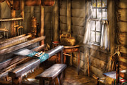 Loom Prints - Weaver - The Weavers Room Print by Mike Savad