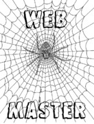 Richard Drawings - Web Master by Richard Brooks