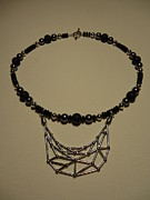 Black Jewelry - Web of Creation by Jenna Green