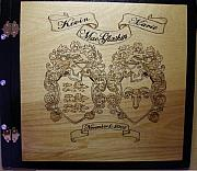 Scottish Pyrography Originals - Wedding 4 by Ramon Greene