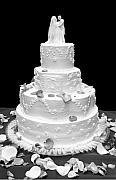 Cake Originals - Wedding Cake by Marilyn Hunt