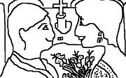 Wedding Day Print by Anita Dale Livaditis