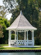 Cherry Framed Prints Framed Prints - Wedding Gazebo Framed Print by Jean Marshall