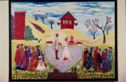 Carol Shumas Art - Wedding in Heartland by Carol Shumas