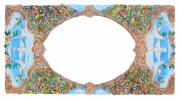 Ornamental Paintings - Wedding Invitation Border by John Keaton