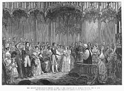 Royal Chapel Photos - Wedding Of Queen Victoria by Granger