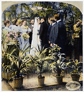 Vow Prints - Wedding Party, 1897 Print by Granger