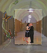 Photo Images Mixed Media - Wedding Portrait by Anita Burgermeister
