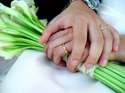 Marriage Photos - Wedding Rings by Carlos Caetano