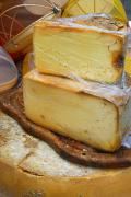 Provence Photos - Wedges Of Ripe Cheese Wrapped by Anne Keiser