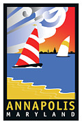 Sailing Prints - Wednesday Afternoon Print by Joe Barsin