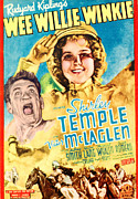 Child Star Posters - Wee Willie Winkie, From Left Victor Poster by Everett
