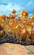 Delos Prints - Weeds on Delos Print by Bonnie Freireich
