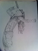 Lil Wayne Drawings - WeEzy by Mike Eliades