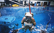 Buoyancy Posters - Weightless Environment Training Poster by Science Source