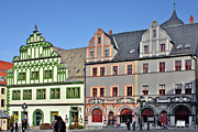 Historical Buildings Photo Posters - Weimar Germany - A town of timeless appeal Poster by Christine Till