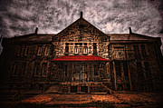 Dilapidated Digital Art Prints - Welcome Print by Andrew Paranavitana
