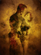 Figurative Metal Prints - Welcome Home Metal Print by Kurt Van Wagner