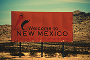 Susanne Van Hulst - Welcome Sign to New Mexico