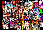 Europe Digital Art Metal Prints - Welcome to Barcelona Graffiti Nirvana Metal Print by Funkpix Photo  Hunter