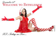 Diaspora Originals - Welcome To Bethlehem by Pin Up  TLV