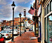 Stores Framed Prints - Welcome to Fells Point Framed Print by Debbi Granruth