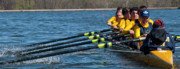 Rowing Crew Posters - Welcome To Intensity Poster by Tim  Telep