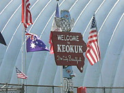 Keokuk Prints - Welcome to Keokuk Print by Ron Hayes
