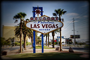Las Vegas Prints - Welcome To Las Vegas Series Color Holga Print by Ricky Barnard