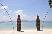 Phuket Prints - Welcome To Rang Yai Island Print by Eustaquio Santimano