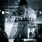 Old Town Photos - Welcome to Salzburg by David Bowman