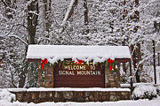 Snow - Welcome to Signal Mountain by Tom and Pat Cory