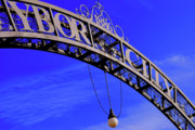 Digital Photography Prints - Welcome to Ybor City Print by Amanda Vouglas