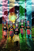 Collective Unconscious Digital Art - Welcoming Committee by Mark Myers
