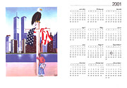 September 11th Attacks Prints - Well never forget Print by Troy Guillory