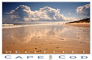 Landscape Posters Framed Prints - Wellfleet Framed Print by Dapixara Art