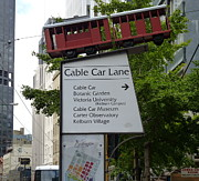 Wellington Cablecar Print by Carla Parris