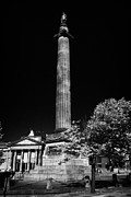 Liverpool Prints - Wellingtons Column Memorial On William Brown Street Liverpool Merseyside England Uk Print by Joe Fox
